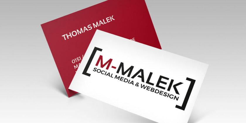 Logogestaltung – M-Malek