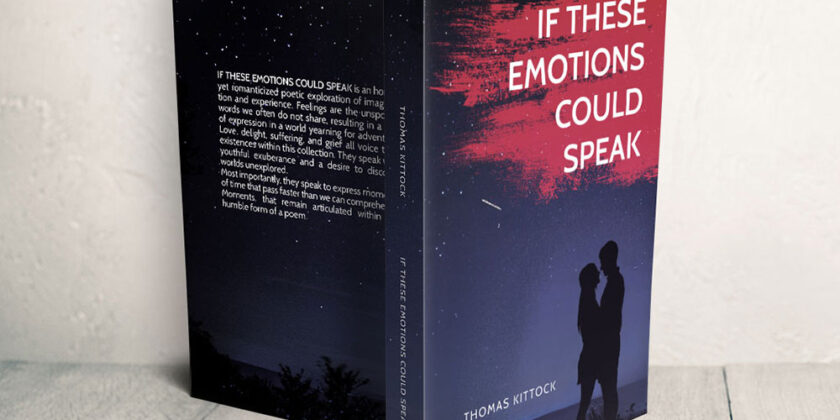 Buchcover – If these emotions could speak