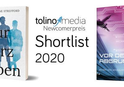 tolino media Newcomerpreis 2020 Shortlist