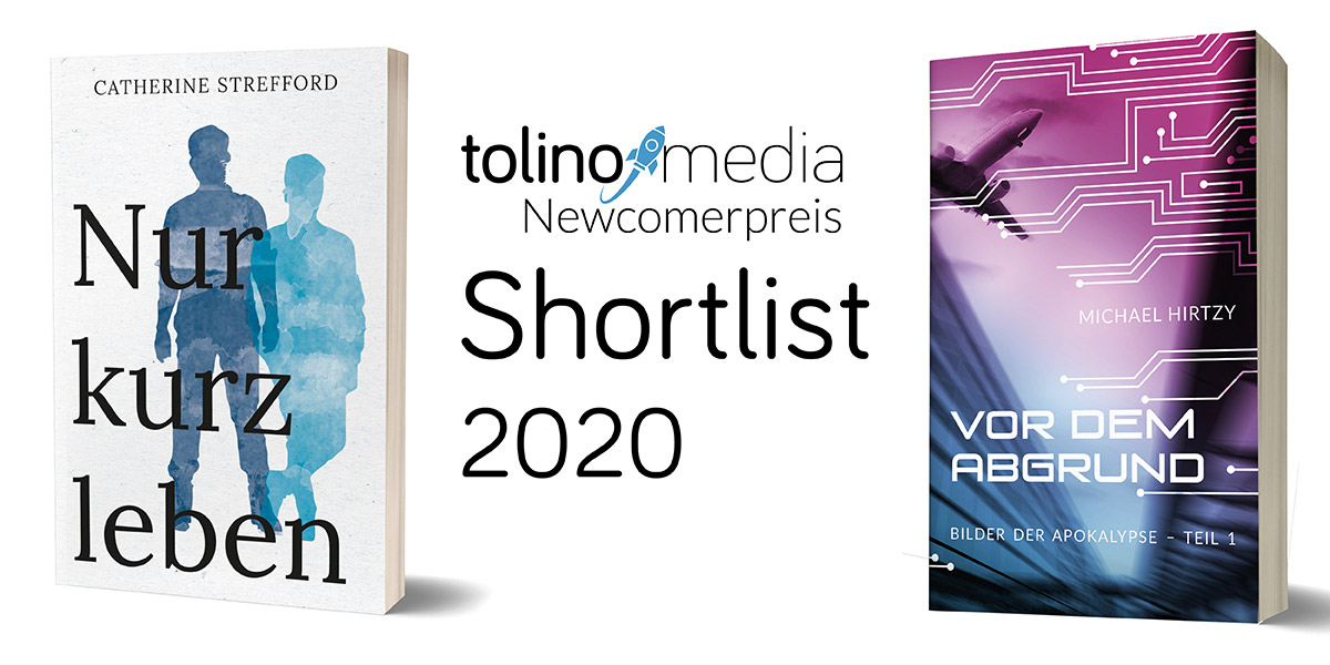 Die Shortlist des tolino media Newcomerpreis