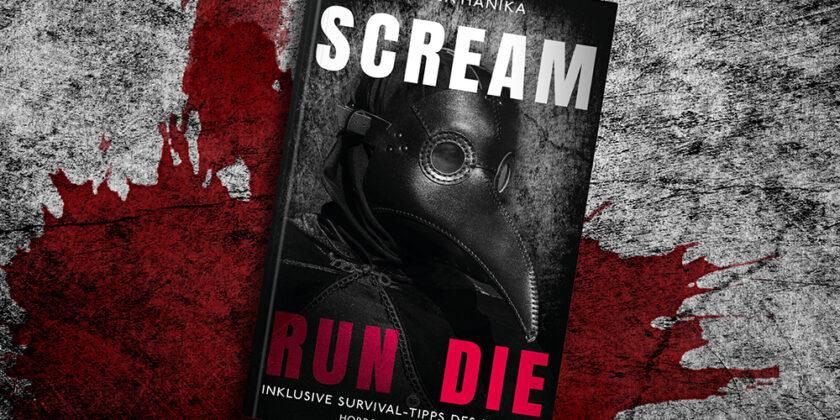 Buchcover – Scream Run Die