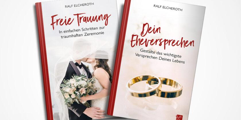 Buchcover und Buchsatz – Freie Trauung und Dein Eheversprechen